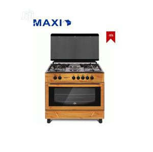 MAXI Gas Cooker 60*90(4+2) Wood Ap16 | Kitchen Appliances for sale in Lagos State, Alimosho