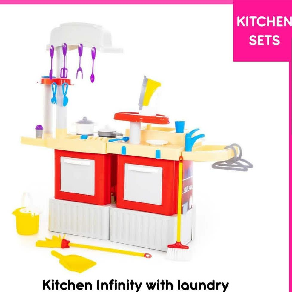 Kitchen Infinity With Laundry