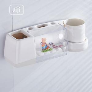 Toothbrush Holder With Cup - Min Of 1 Dozen | Home Accessories for sale in Lagos State, Ikeja