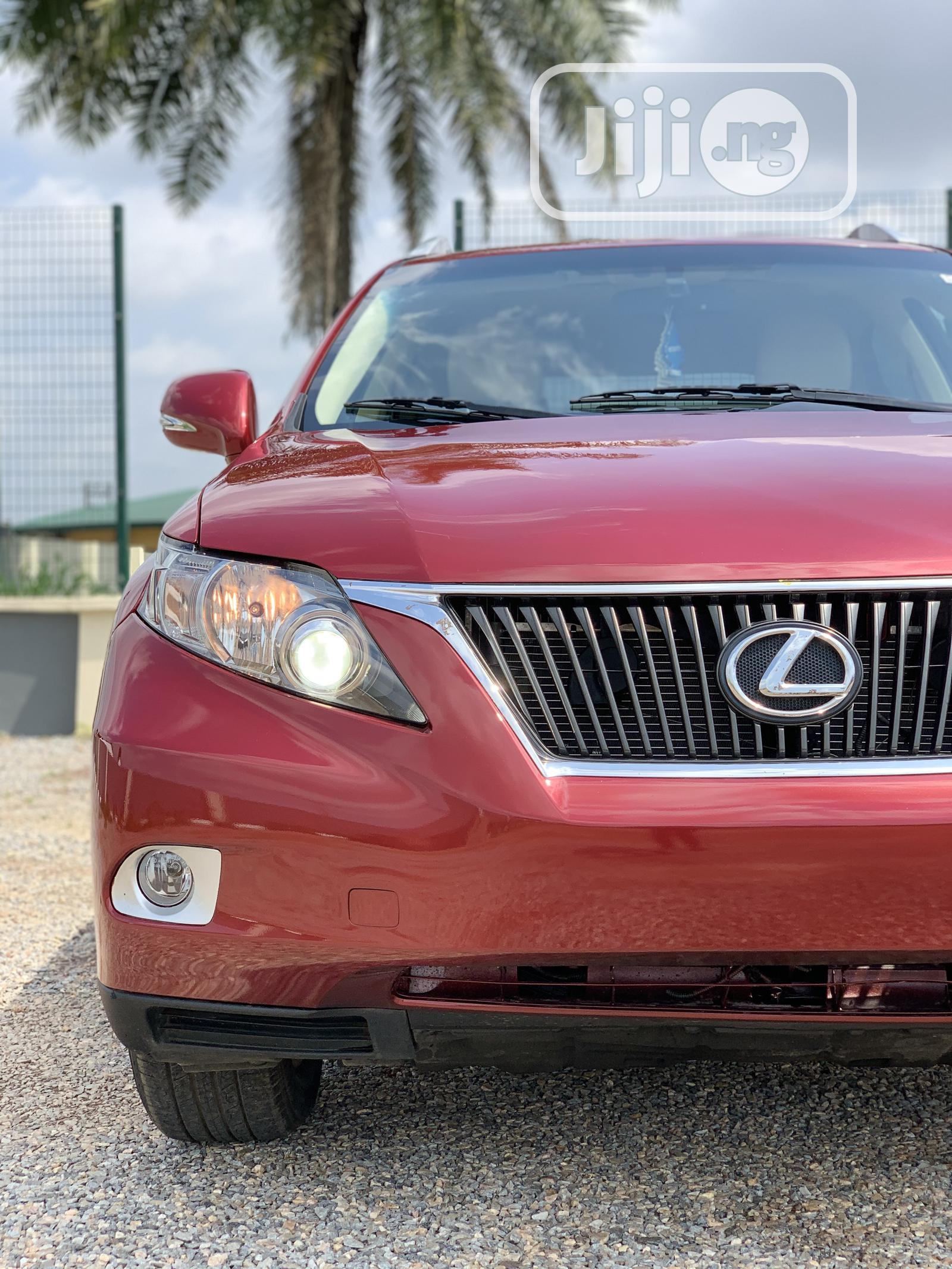 Archive: Lexus RX 2010 350 Red