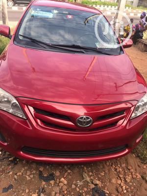 Toyota Corolla 2012 Red | Cars for sale in Lagos State, Ikeja