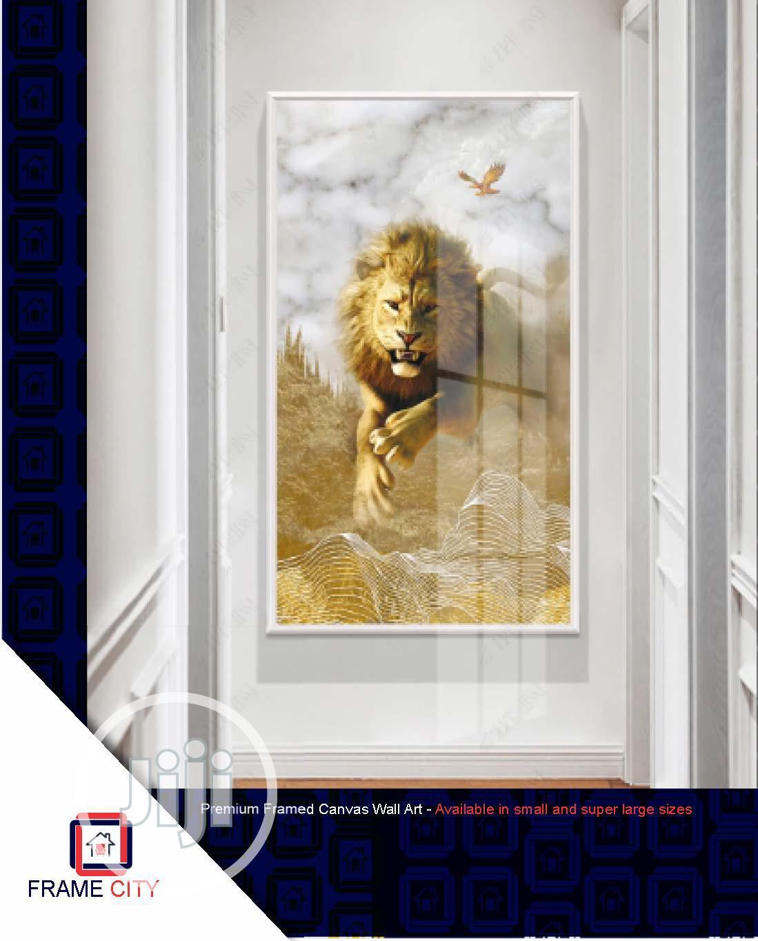 Archive: Premium Framed Digital Canvas Artwork.