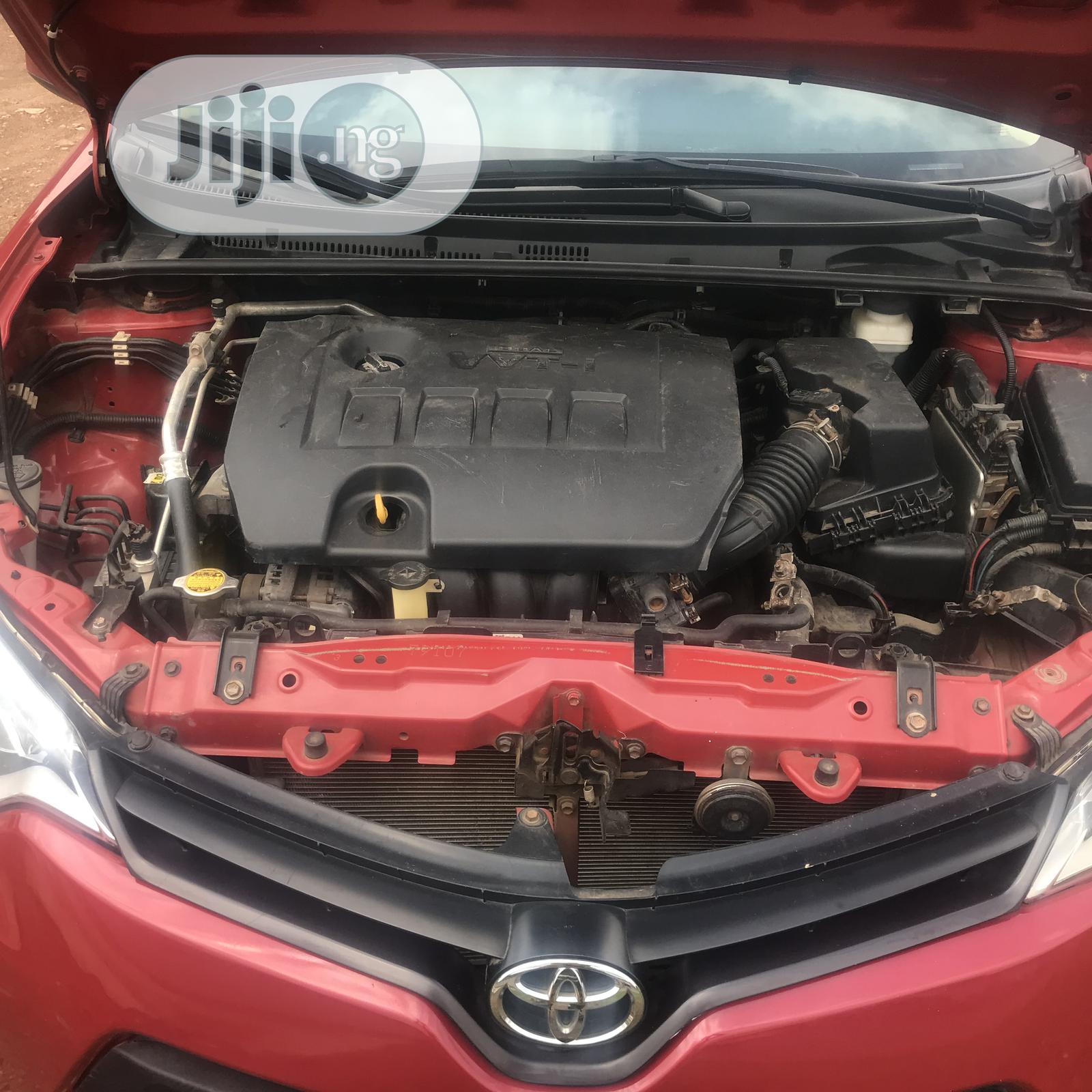 Toyota Corolla 2015 Red | Cars for sale in Ado Ekiti, Ekiti State, Nigeria