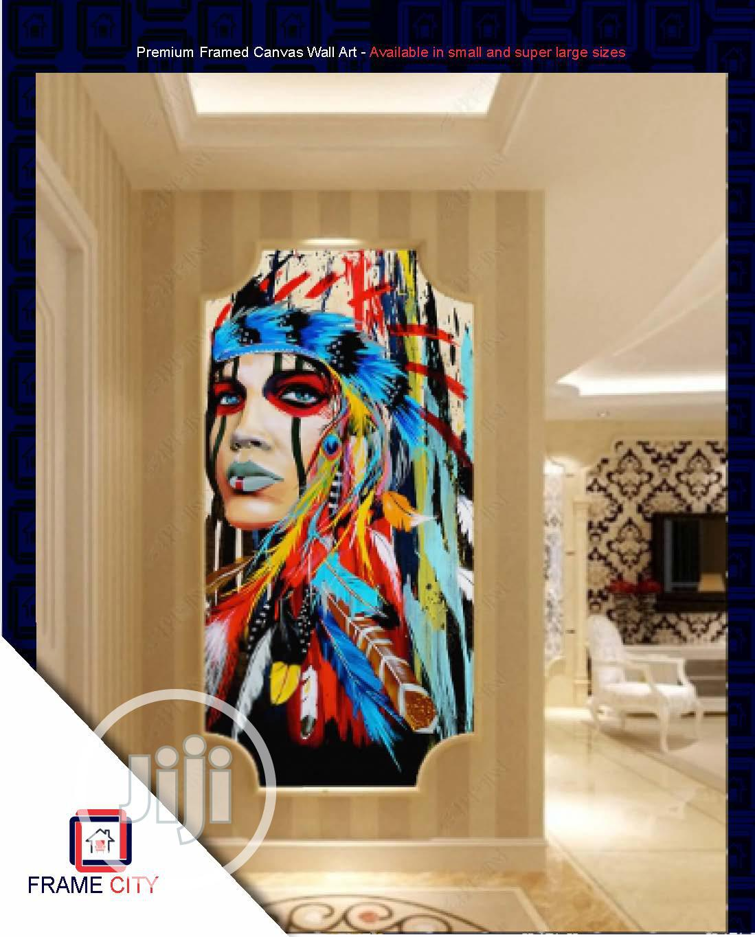 Premium Framed Digital Canvas Artwork. | Arts & Crafts for sale in Yaba, Lagos State, Nigeria