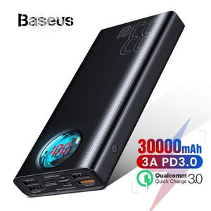 Baseus 30000mah Powerbank QC 3.0+ PD Fast Charger 33W | Accessories for Mobile Phones & Tablets for sale in Lagos State, Ikeja