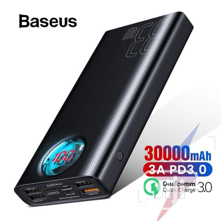 Baseus 30000mah Powerbank QC 3.0+ PD Fast Charger 33W | Accessories for Mobile Phones & Tablets for sale in Ikeja, Lagos State, Nigeria