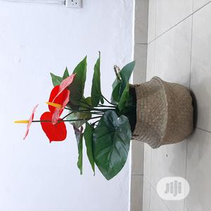 Mini Artificial Flower Plant (Incl. Seagrass Pot) | Garden for sale in Lagos State, Ikeja