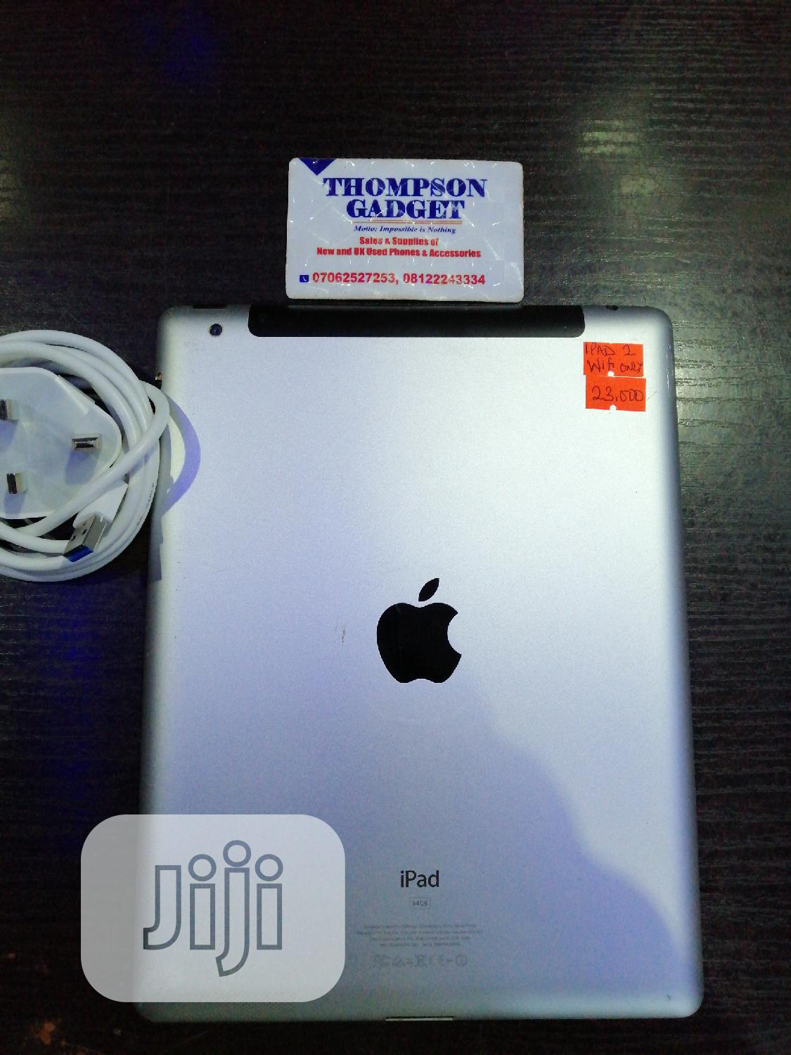 Apple iPad 2 Wi-Fi 64 GB Silver | Tablets for sale in Wuse, Abuja (FCT) State, Nigeria