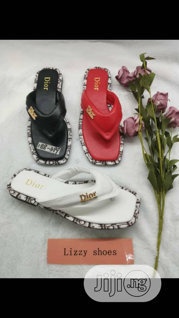Zara and Dior Flat Slippers