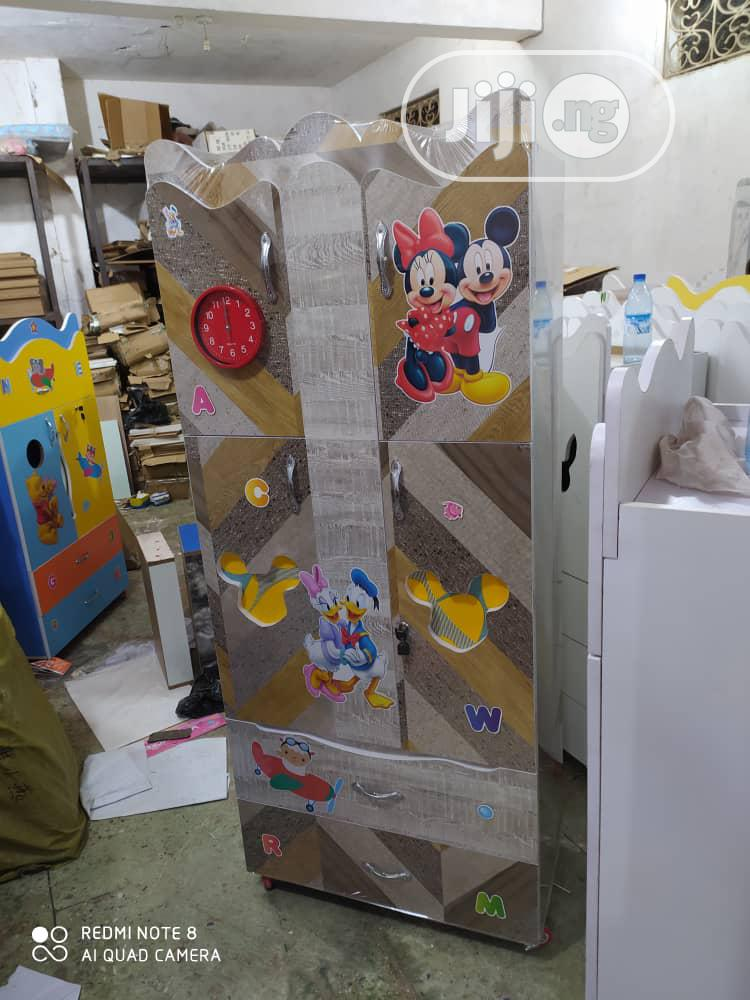 Children's Wooden Wardrobe | Children's Furniture for sale in Kubwa, Abuja (FCT) State, Nigeria