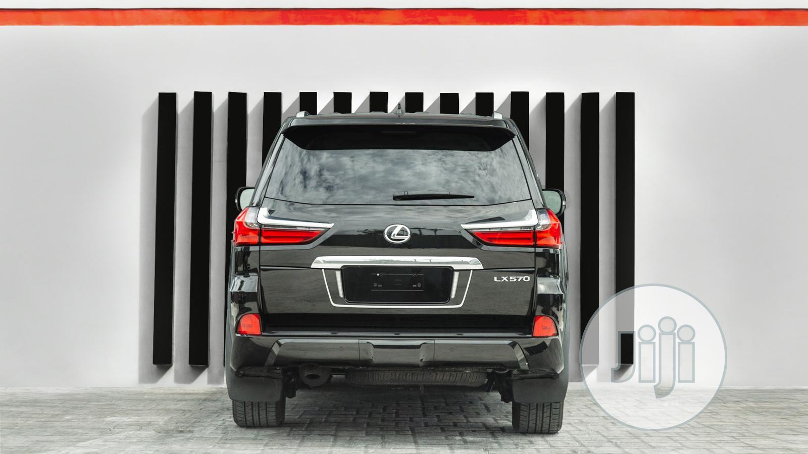New Lexus LX 2020 570 Three-Row Black | Cars for sale in Ikoyi, Lagos State, Nigeria