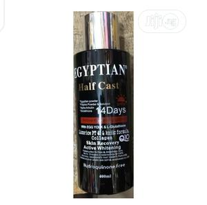 Egyptian Half Cast Whitening Lotion With Eggyolk 400ml | Skin Care for sale in Abuja (FCT) State, Gwarinpa