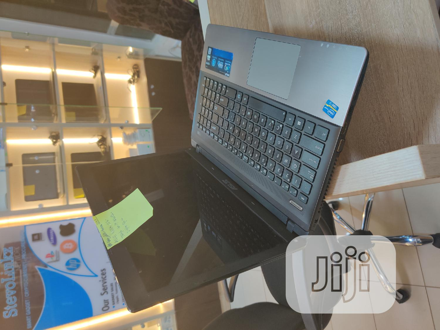 Laptop Asus K55A 8GB Intel Core I7 HDD 750GB | Laptops & Computers for sale in Wuse 2, Abuja (FCT) State, Nigeria