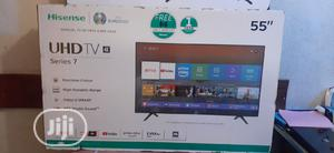 Hisense 55inches Smart TV 4k | TV & DVD Equipment for sale in Lagos State, Ikeja
