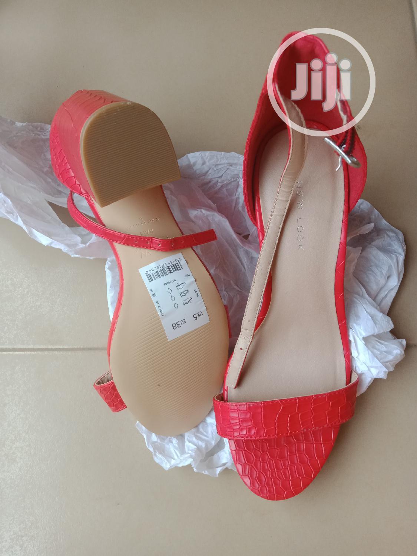 Block Heel Sandal.