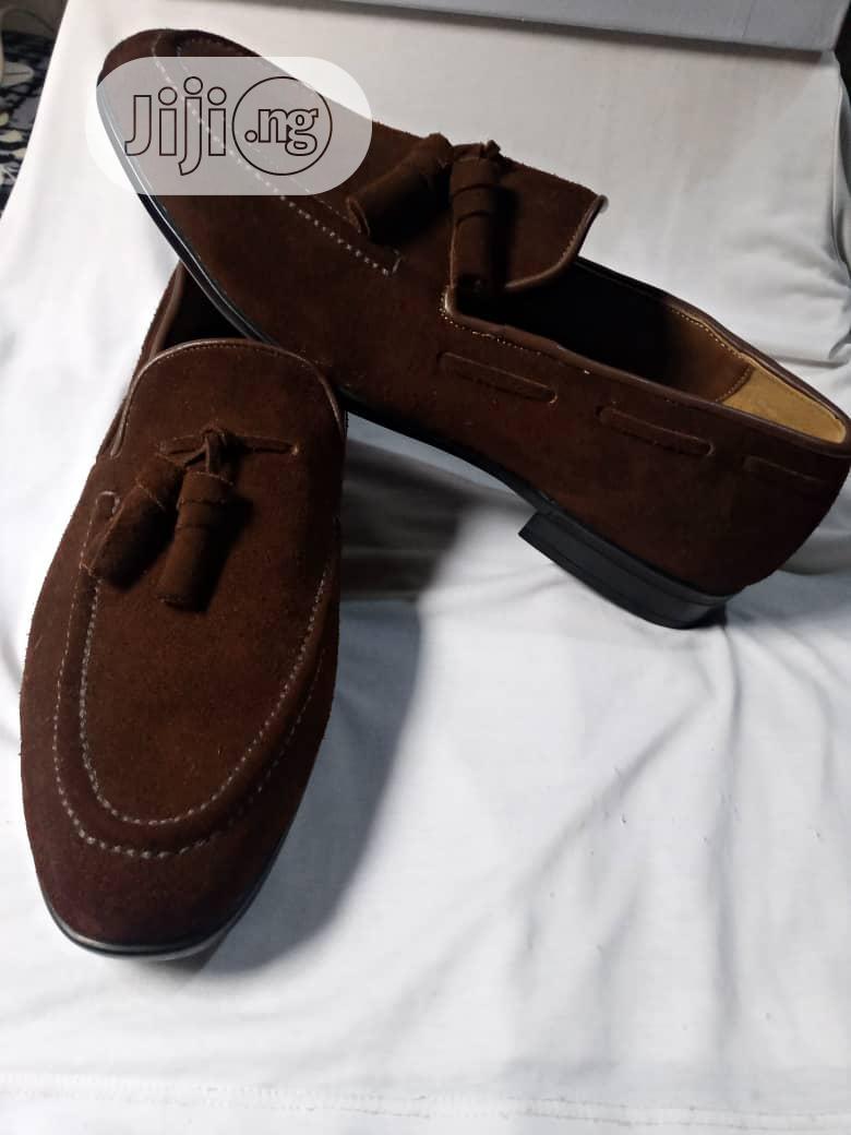 Classy Brown Men Shoe