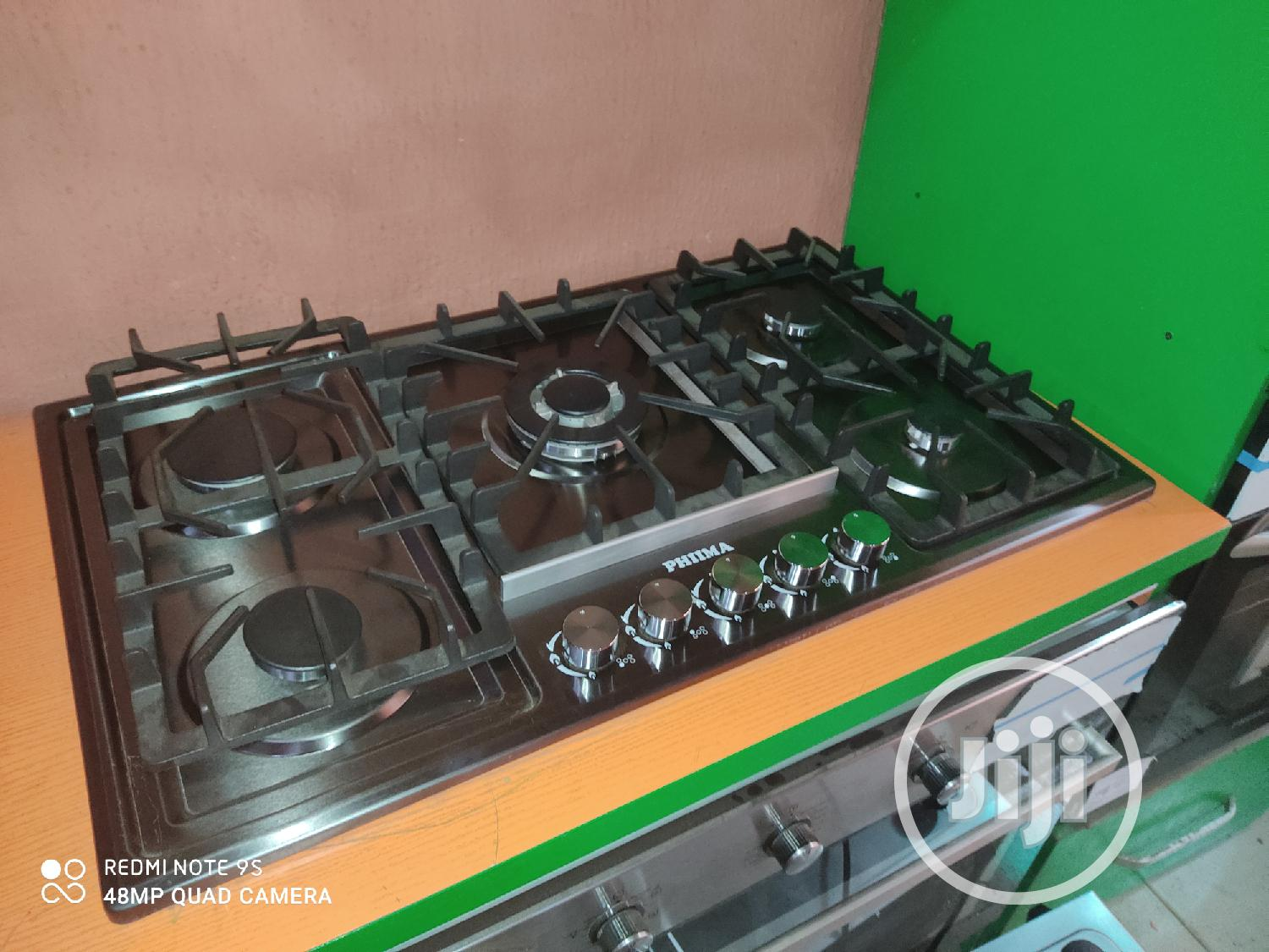 @German Phima Automatic 5 Gas Cabinet Modern Kitchen+5 Years