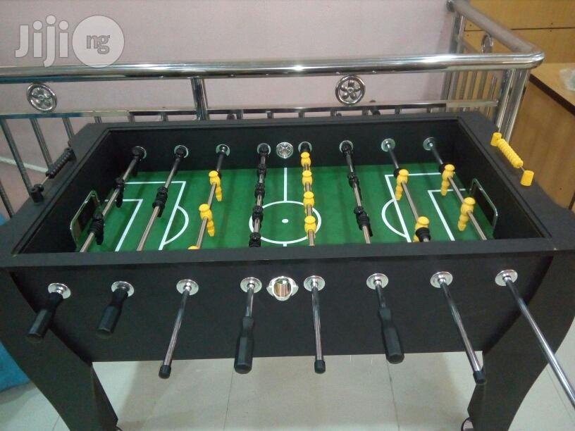 New Soccer Table