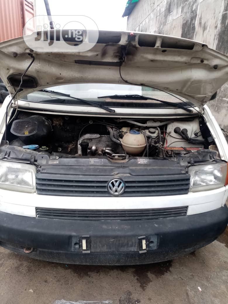 Archive: Volkswagen T4 2002 White Tokunbo Diesel
