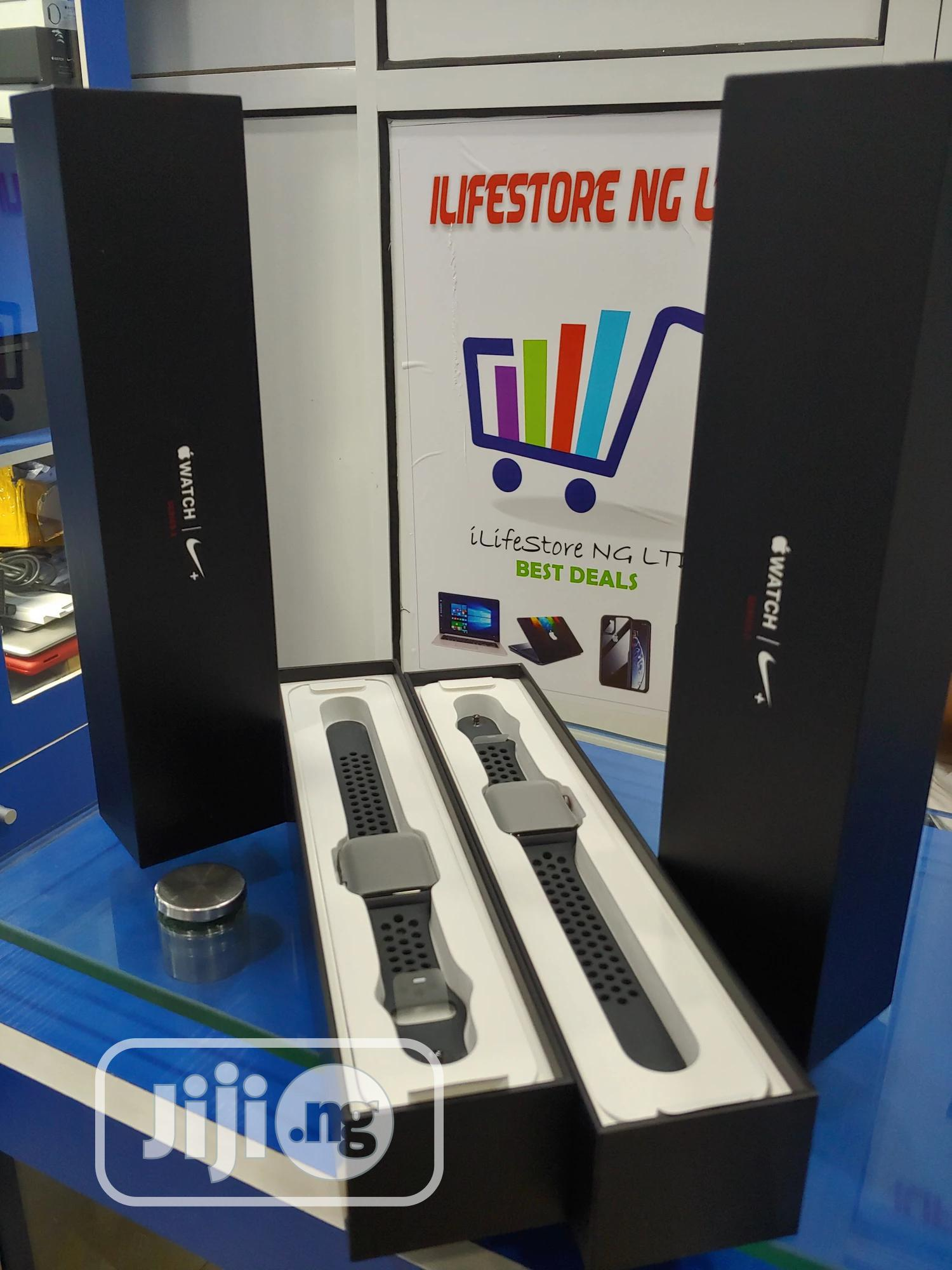 Apple Iwatch Series 3 42mm Gps+Cellular   Smart Watches & Trackers for sale in Ikeja, Lagos State, Nigeria