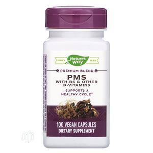 Nature's Way PMS With B6 & Other B-vitamins, 100 Vcaps | Vitamins & Supplements for sale in Lagos State, Lekki