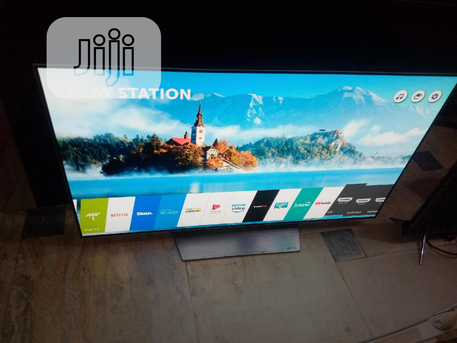 """Super Thinning 55"""" LG Oled Webos 4K TV { 55B7T }   TV & DVD Equipment for sale in Ojo, Lagos State, Nigeria"""