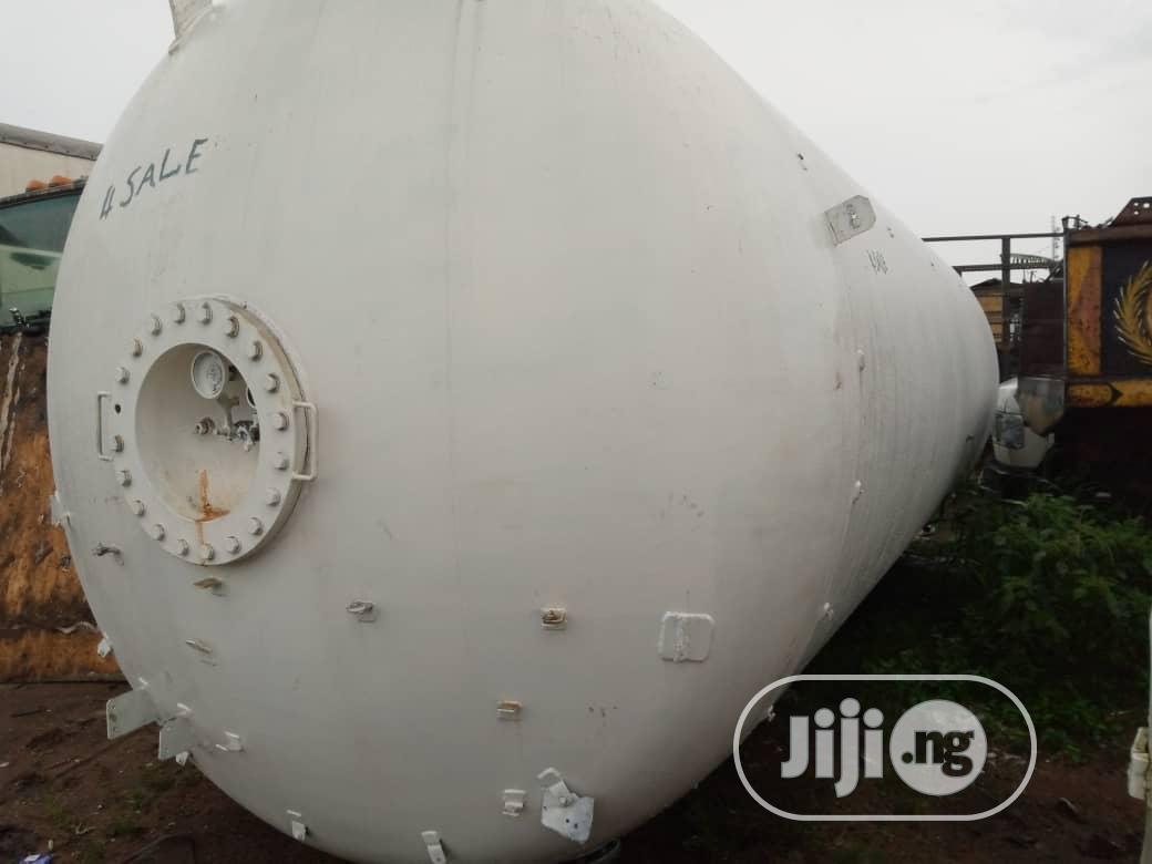 Archive: Tokunbo 15tons Lpg Storage Tank