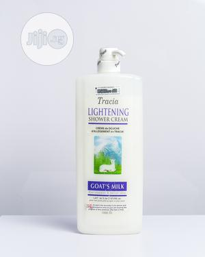 Tracia Lightening Shower Cream Goat Milk-1000ml   Bath & Body for sale in Abuja (FCT) State, Gwarinpa