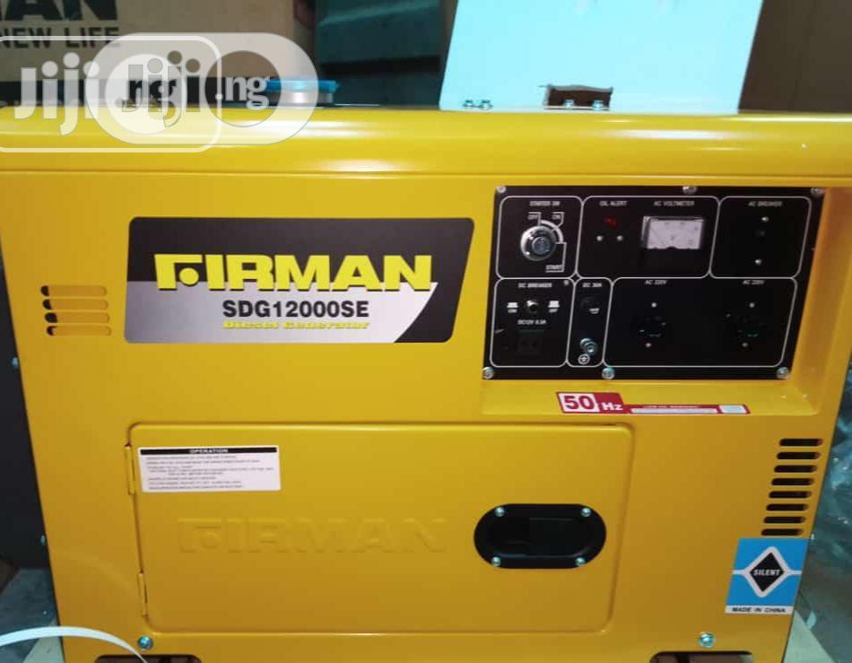 Sumec Generator 8.5 KVA 100% Pure Copper Coil Sdg12000 A++