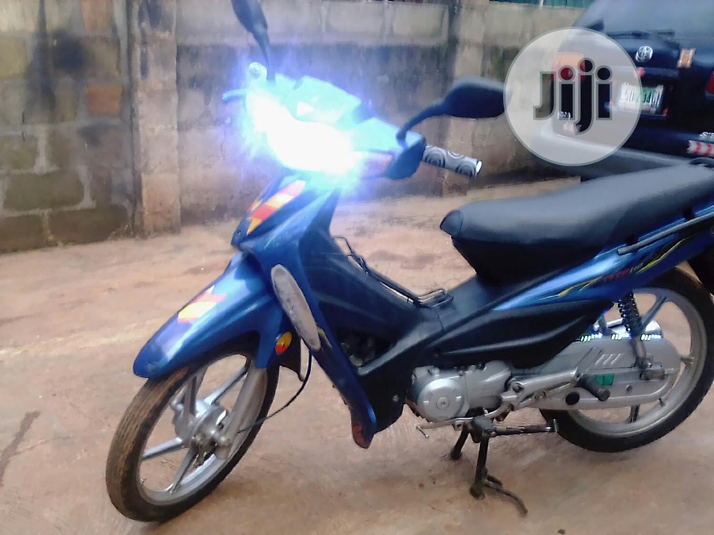 Archive: Haojue UD110 HJ Blue