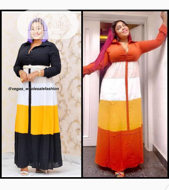 Quality Ladies Long Dress | Clothing for sale in Ikeja, Lagos State, Nigeria