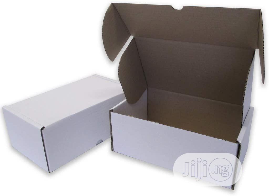 White Corrugated Mailer Carton Box