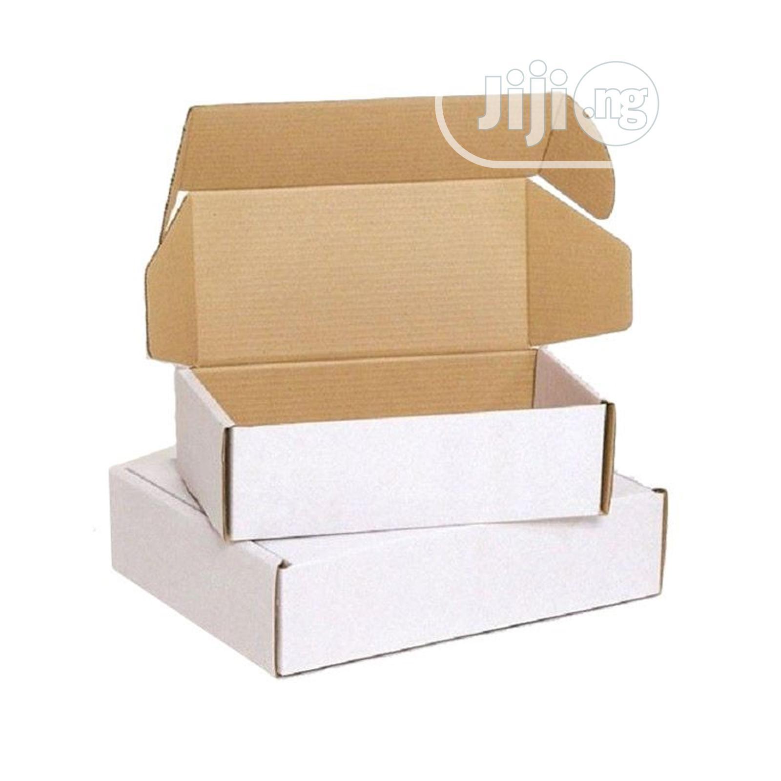 White Corrugated Mailer Carton Box | Manufacturing Services for sale in Ogudu, Lagos State, Nigeria
