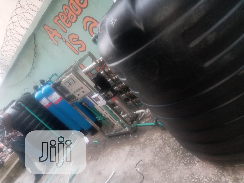 Water Treatment Machines 6 Membrane R O Osmosis Machine