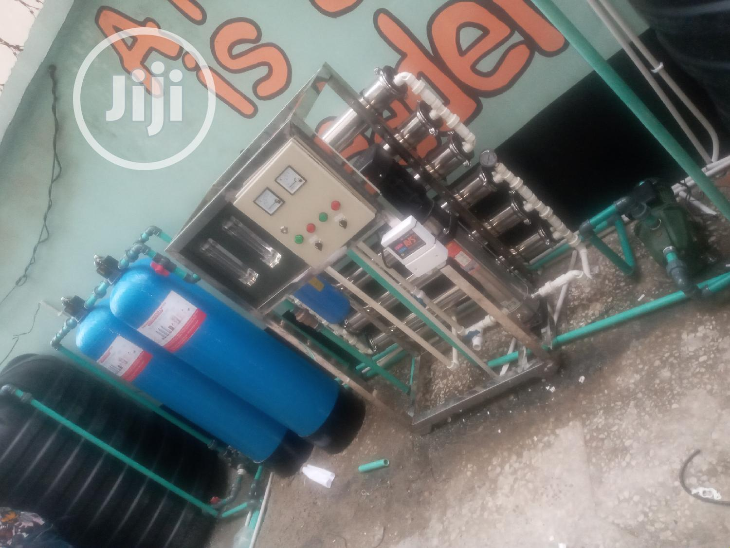 Water Treatment Machines 6 Membrane R O Osmosis Machine | Manufacturing Equipment for sale in Orile, Lagos State, Nigeria