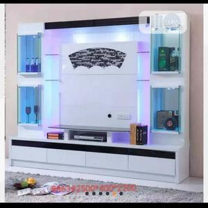Executive Imported Tv Stand Wit Cabinet,Bar Mp Speaker   Furniture for sale in Lagos State, Ikeja