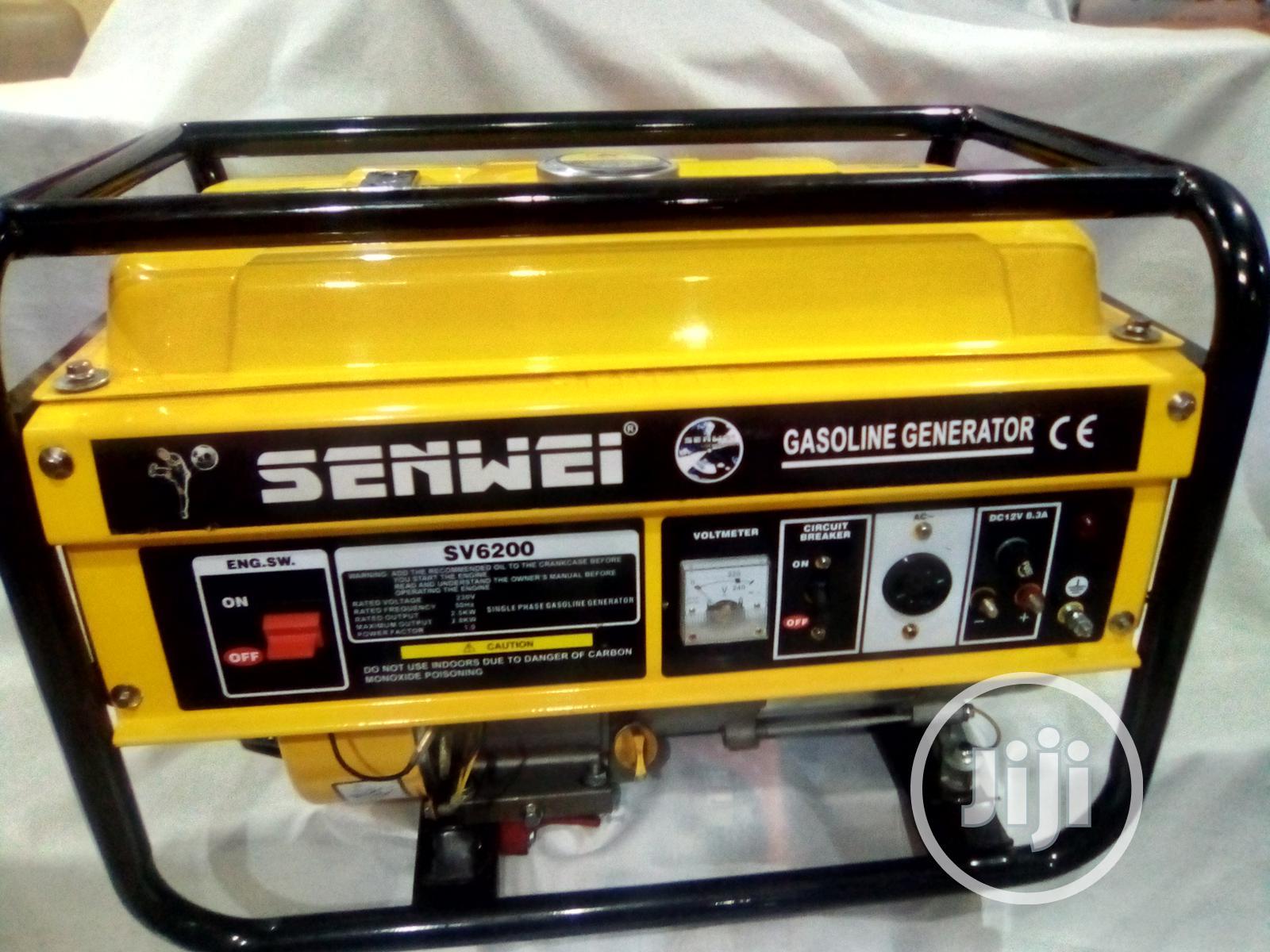 SENWEI Generator Original Quality And Pure Cooper | Electrical Equipment for sale in Ikwerre, Rivers State, Nigeria