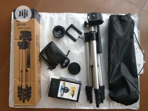 Video Tripod Stand With Free Lens And Remote   Accessories & Supplies for Electronics for sale in Lagos State, Ojo