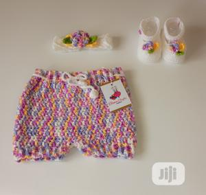 Baby Girl Bloomer Shorts Set - Photo Prop Ouftit   Children's Clothing for sale in Lagos State, Ikeja