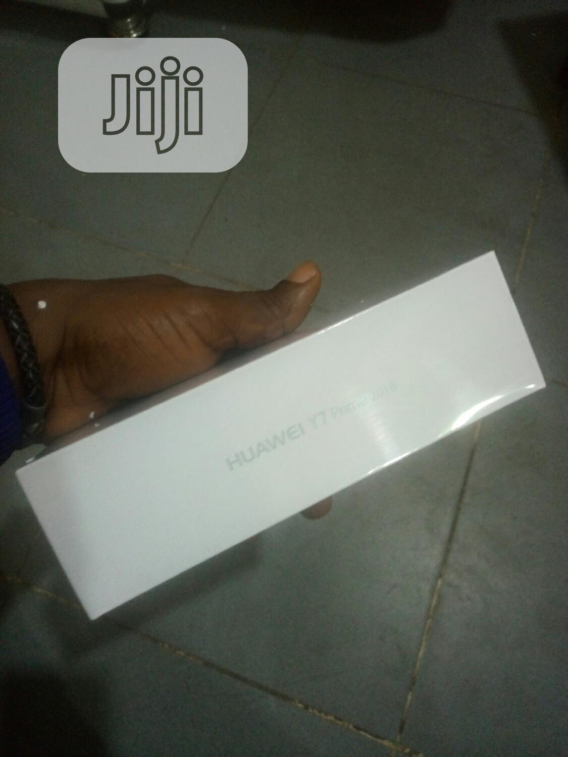 New Huawei Y7 Prime 32 GB Blue | Mobile Phones for sale in Ikeja, Lagos State, Nigeria