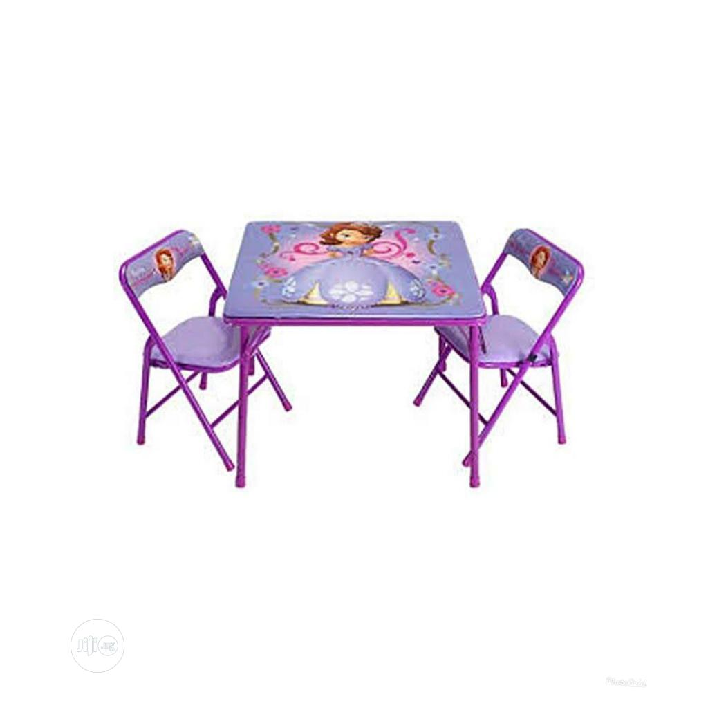 Study Children Table And Chair