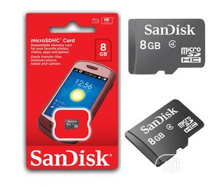 Sandisk Memory Cards 8GB   Accessories for Mobile Phones & Tablets for sale in Lagos State, Ikeja