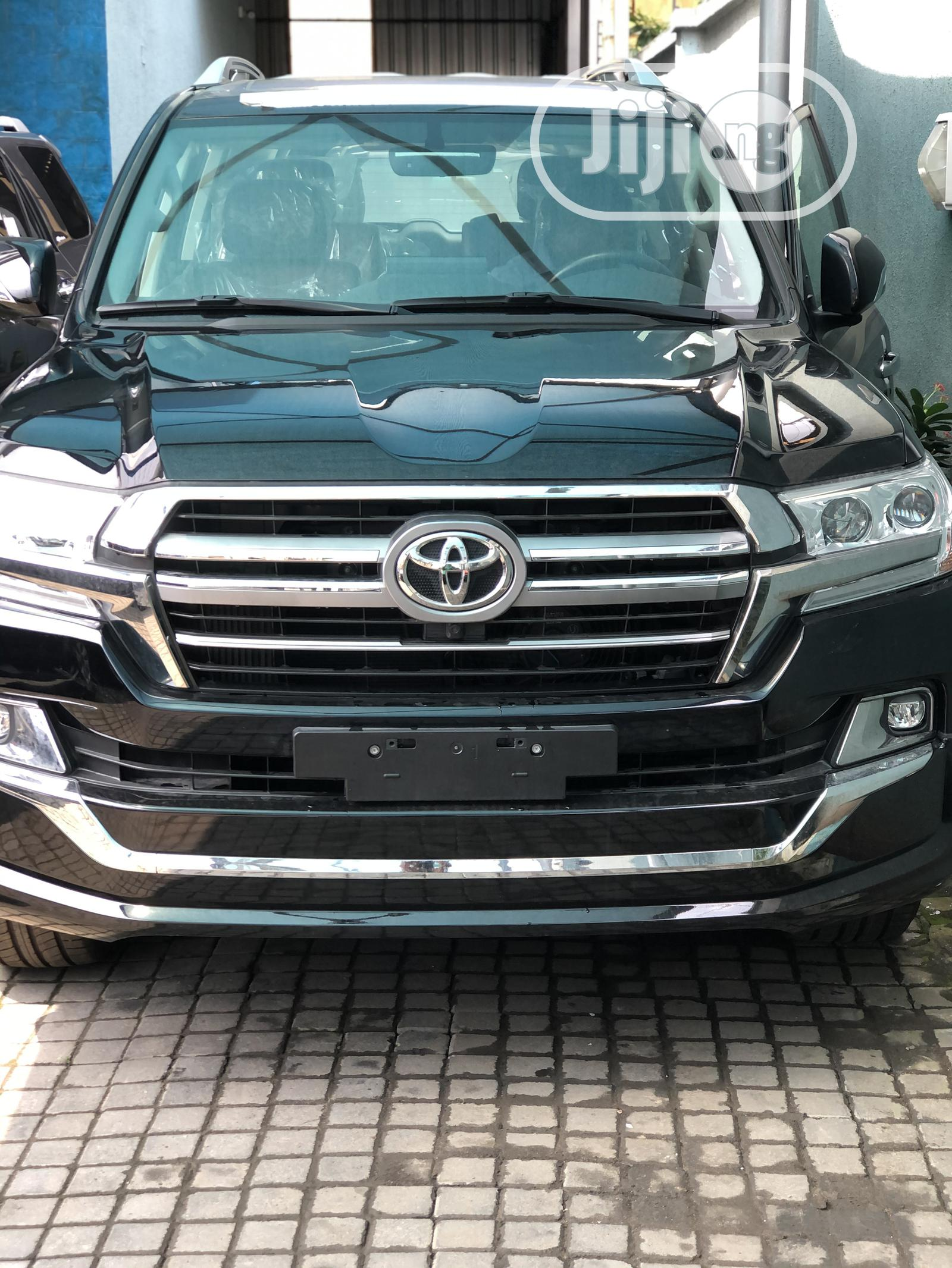 New Toyota Land Cruiser 2020 Black