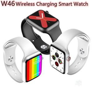 W46 Series 6 Full Screen 44mm Wireless Charging Smart Watch | Smart Watches & Trackers for sale in Lagos State, Ikeja