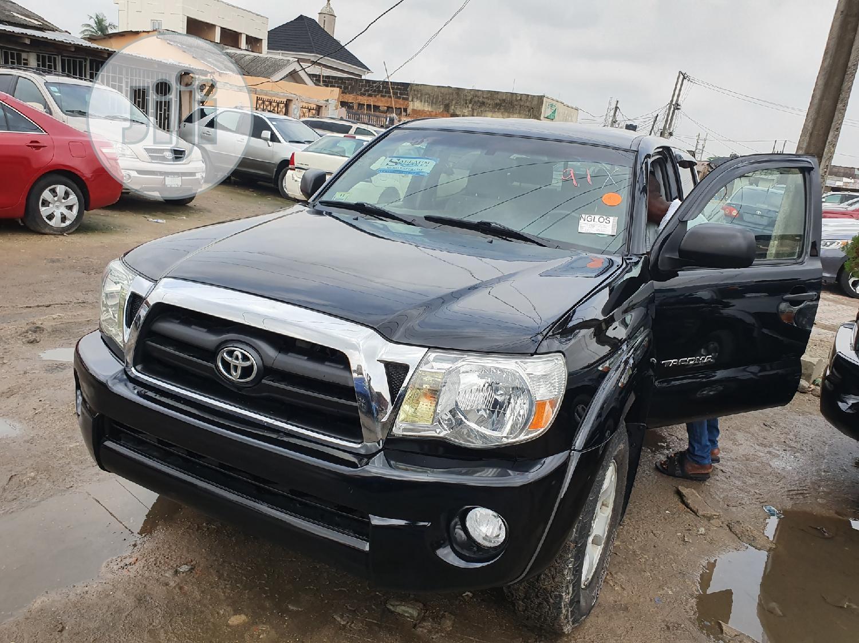 Toyota Tacoma 2008 Black | Cars for sale in Surulere, Lagos State, Nigeria