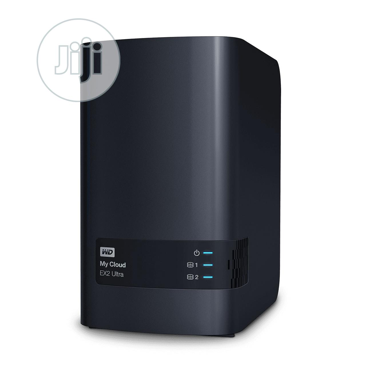 WD Diskless My Cloud EX2 Ultra Network Attached Storage NAS