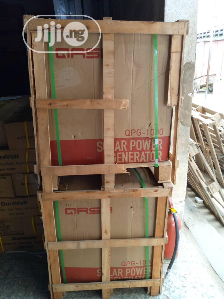 Qasa Solar Power Generator QPS-1000 And Qsp-200w18v | Solar Energy for sale in Victoria Island, Lagos State, Nigeria