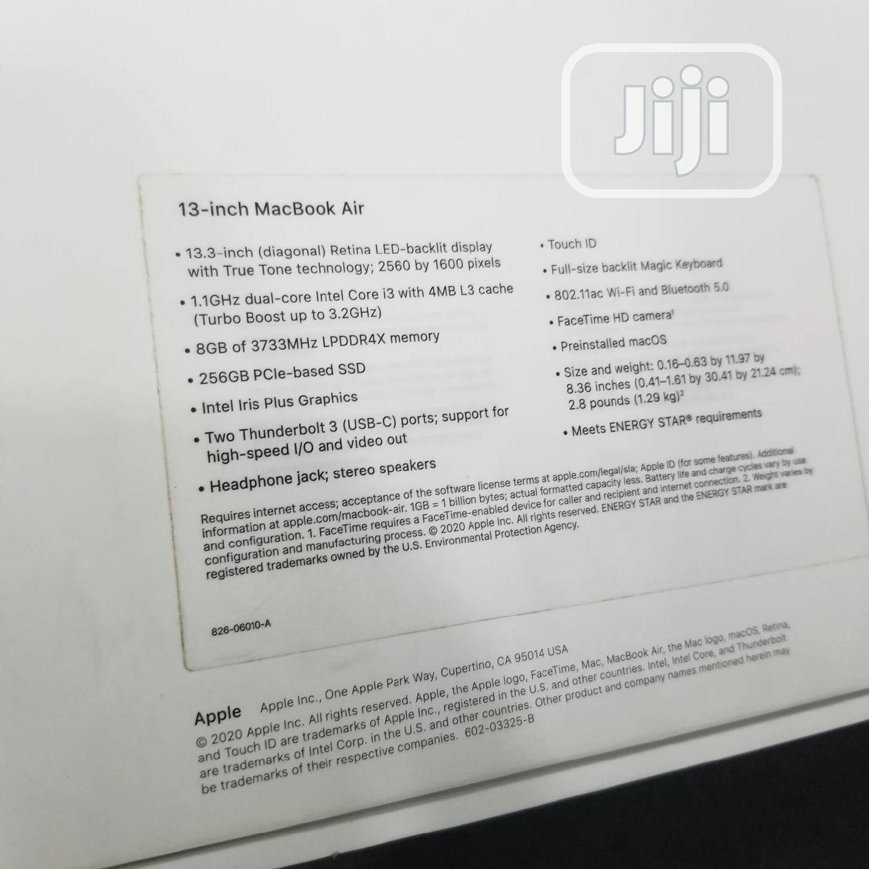 Laptop Apple MacBook Air 8GB Intel Core i3 SSD 256GB | Laptops & Computers for sale in Ikeja, Lagos State, Nigeria