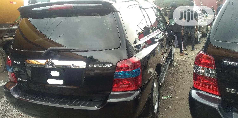 Toyota Highlander 2007 Limited V6 Black   Cars for sale in Apapa, Lagos State, Nigeria