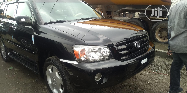 Toyota Highlander 2007 Limited V6 Black